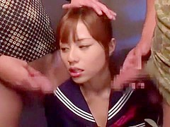 Fabulous Japanese whore Rina Rukawa in Incredible JAV video