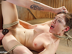Lily LaBeau in Lily Labeau Endures Extreme Bondage, Brutal Foot Torture, And Screaming Orgasms - Sad