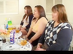 3 japanese bbw  play group sex games