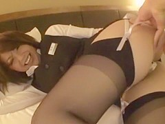 Best Japanese chick Saki Kataoka in Incredible Softcore, Stockings/Pansuto JAV video