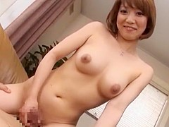 Incredible Japanese chick Chihiro Mochizuki in Hottest JAV clip
