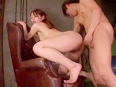 Amazing Japanese girl Tina Yuzuki in Crazy Small Tits, Doggy Style JAV scene