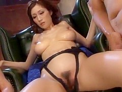 Hottest Japanese chick Julia in Crazy Group Sex, Big Tits JAV scene