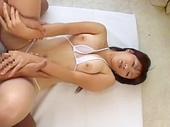 Fabulous Japanese whore Miki Arakawa in Incredible Big Tits JAV clip
