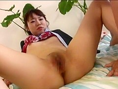 Incredible Japanese chick Akina Hara in Best Doggy Style, Small Tits JAV clip
