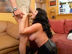 Exotic pornstar Darla Crane in hottest blowjob, brunette porn movie