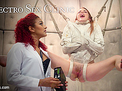 Daisy Ducati & Amarna Miller in Electro Sex Clinic: Curing Hysteria Through Lesbian Electro Orgasms