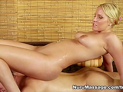 Incredible pornstar Vanessa Cage in Best Blowjob, Blonde adult movie
