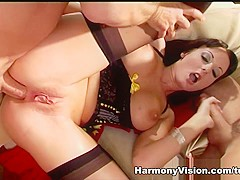 Horny pornstar Melissa Lauren in Crazy Big Tits, DP xxx movie