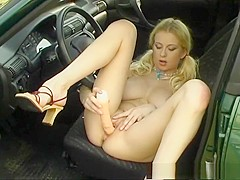 Hottest pornstar Kate K. in exotic blonde, solo girl xxx movie