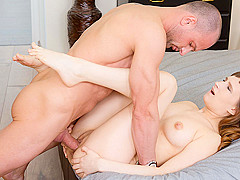 Stasya Stoune in Slavic Beauty Opens Pussy And Ass For A Big Cock - AnalBeauty