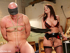 Sophie Dee & Chad Rock in Mistress Sophie Dee Owns Your Cock - DivineBitches