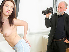 Lenka C in Old Guy Enjoys A Teen - Old-n-Young