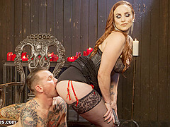 Will Havoc & Bella Rossi in The Perfect Slave For Perfect Service - DivineBitches