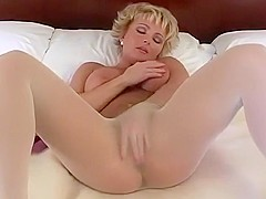 Incredible amateur Blonde, Solo Girl xxx video
