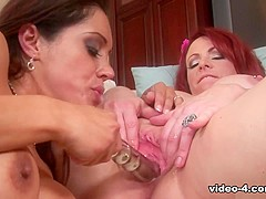 Francesca Le & Kylie Ireland in Francesca Le And Kylie Ireland Eating Each Other's Pussy - Upox