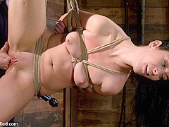 January Seraph in January Seraph: Hot Domme Submits To My Rope & Fucking - HogTied