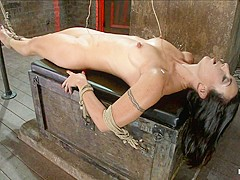 Extreme Predicament Bondagehuge Nipples Tied To Toes, How Long Can The Abs Hold Out? - HogTied
