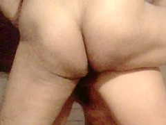 Mature woman enjoys cock in her butt hole