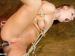 Aurora Snow in Youngest Porn Legend In The Business. - HogTied