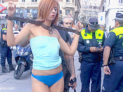 Gorgeous Spanish Model Bianca Resa Is Bound In Madrid - PublicDisgrace