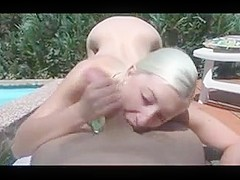 HORNY TEEN FUCKED AT THE POOL
