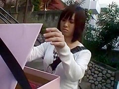 Amazing Japanese model in Best Blowjob/Fera JAV clip