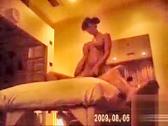 Fascinating Asian masseuse takes care of the man's dick