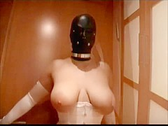 Compilation of Ladies in Leather Masks and Hoods