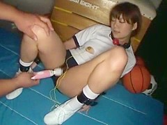 Hottest Japanese slut Rin Kitano in Horny Threesomes, Sports JAV scene