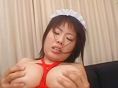 Horny Japanese chick Rin Aoki in Crazy Big Tits, Facial JAV video