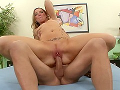 Incredible pornstar Nicole Taylor in exotic facial, blonde adult clip