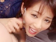 Exotic Japanese girl Nozomi Aso in Fabulous Blowjob/Fera, Facial JAV movie