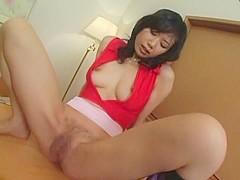 Crazy Japanese model Kasumi Hoshino in Incredible POV, Wife JAV scene