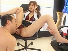 Hottest Japanese model Ai Haruka in Best Facial, Blowjob JAV movie
