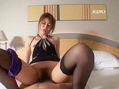Best Japanese chick Yukino Mori in Hottest Stockings/Pansuto JAV clip