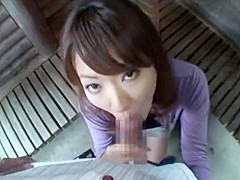Hottest Japanese chick Erika Hiramatsu in Incredible JAV movie