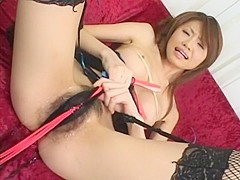Crazy Japanese chick Maiko Ohshiro in Incredible Panties JAV movie