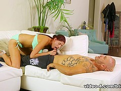 Exotic pornstars Derrick Pierce, Miranda Miller in Horny Redhead, Small Tits sex movie