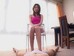 Horny Japanese slut Kei Hitomi in Best Cougar, Facial JAV movie