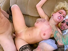 Sex Witch: Cherie Deville Takes Five Hard Cocks In Dystopian Fuck - HardcoreGangbang