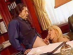 Hairy italian anal in the office