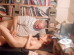 Fat guy and beautiful mature wife