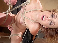 Dylan Ryan & The Pope in Rope Slut Begs To Suffer In Extreme Bondage - HogTied