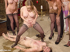 Bella Rossi & Jay Wimp & Cherry Torn & Amanda Tate & Aiden Starr in The Secret Femdom Society: Terri