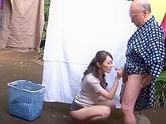 Crazy Japanese model Aoki Misora in Hottest Outdoor, Oldie JAV scene