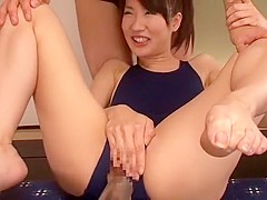 Fabulous Japanese model Arisa Nakano in Hottest Fingering, Close-up JAV clip