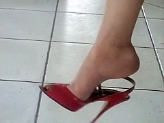 Part 2 : The Nyloned Feet Of Madam'S Stocki...