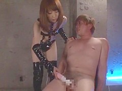 Best Japanese whore Saki Yano in Hottest Handjobs, Stockings JAV video