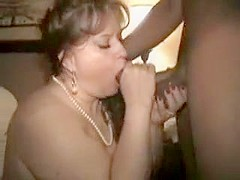 Incredible amateur Interracial, Blowjob xxx movie